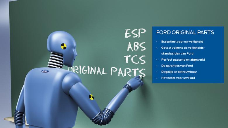 Onderdelen van Ford