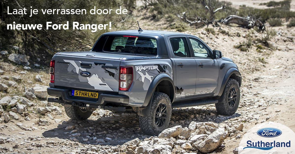 Ford Ranger bij Sutherland