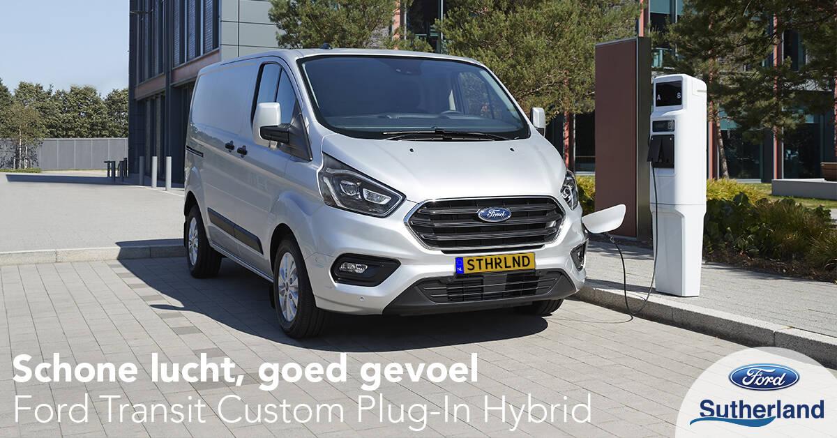 nieuwe Transit Custom Plug-In Hybrid