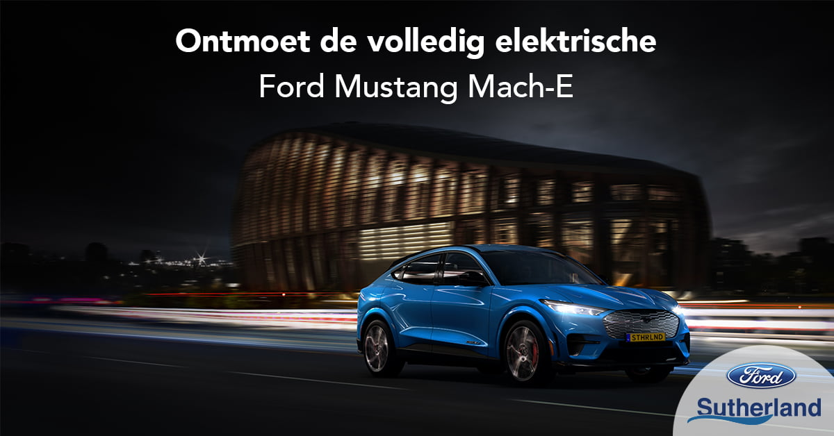 Electrische Ford Mustang Mach-e