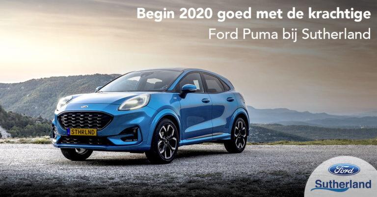 Nieuwe Ford Puma