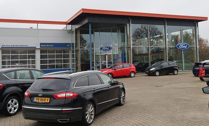 Ford Sutherland dealer in Drachten